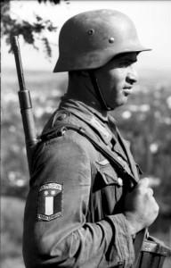 Soldat de la Légion arabe libre