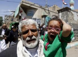 Vidéo de l'attentat à la mosquée chiite à Sanaa