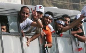 Libération de terroristes arabes