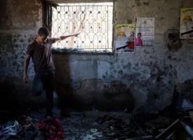 Encore une maison incendiée à Kafr Douma