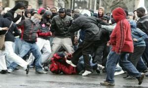 Agression en France