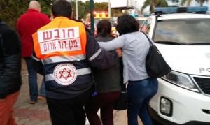 Evacuation de blessé après un attentat