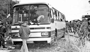 Autobus 300 de la prise d'otages en avril 1984