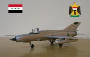MIG 21 irakien