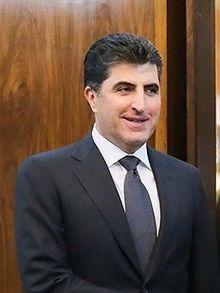 Nechervan Idris BARZANI, l'actuel Premier ministre de l'autonomie kurde irakienne