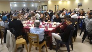 Accueil et repas à la yeshiva d'Elon Moreh
