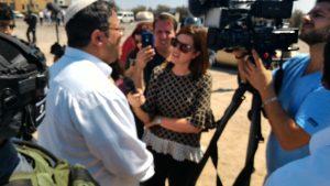 Maitre Itamar Ben-Gvir interviewé par la presse arabe israélienne