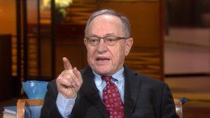 Le professeur Alan Dershowitz