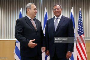 Ehoud Barak et Leon Panetta