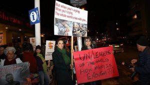 Manifestation pour les Syriens à Tel-Aviv
