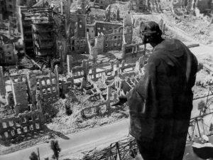 Dresde bombardée en 1945