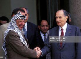 """Il y a 39 ans, """"l'ami d'Israël"""" était élu président de la République."""